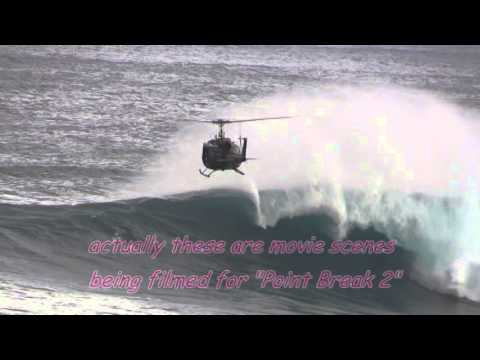 Jaws Point Break 2 Maui Peahi Hawaii Helicopter Surfing 1 22 2014 Youtube