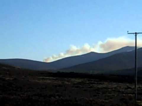 Fire crews battle second blaze at Balmoral