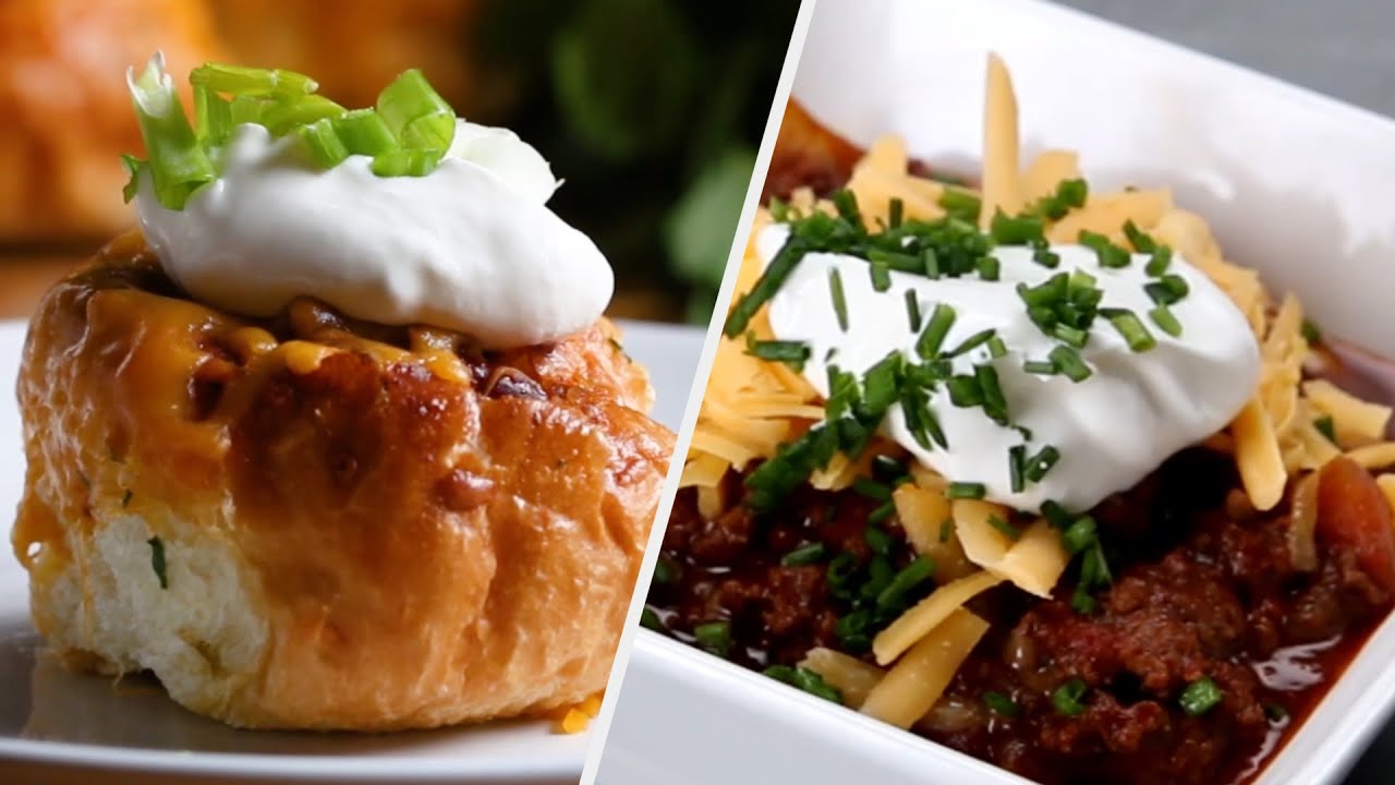 8 Hearty Chili Dishes To Savor This Fall Tasty Youtube