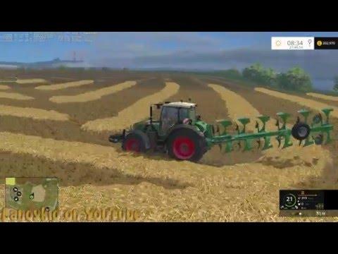 Farming Simulator 15 on Sandy Bay fixing up a field 8