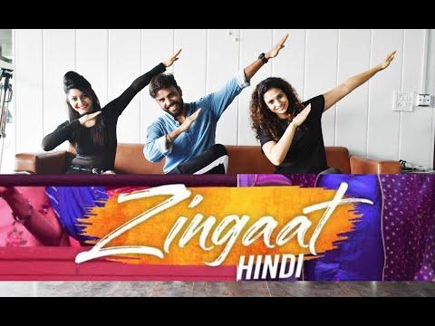 Zingaat Bollywood Dance Workout   Zingaat Zumba   Dhadak Zingaat Dance Choreography   Dance Cover