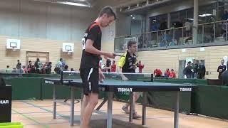Hegenberger Hilpoltstein vs Haider 1 Bayer  Jugendm  Ansbach 20181208 Table Tennis Zoom  6