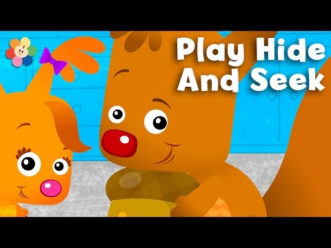 Hide and Seek for Babies - Find the Acorn | Game for Babies and Toddlers | Sammy & Eve - BabyFirst