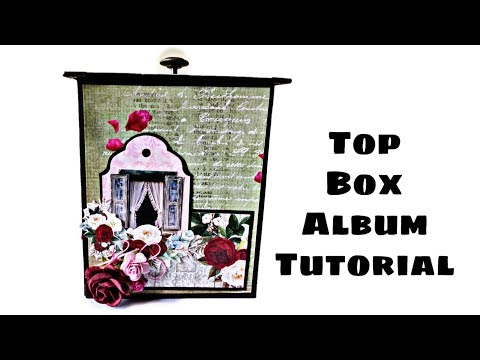 Top Box Album Tutorial | DIY Birthday Gift Idea ( Requested Video )
