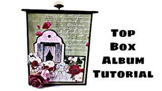 Top Box Album Tutorial | DIY Birthday Gift Idea ( Requested Video )