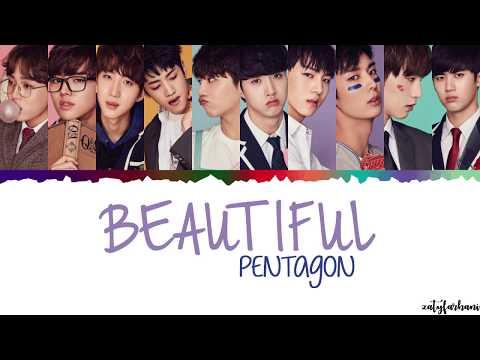Pentagon - Beautiful  Lyrics [Color Coded_Han_Rom_Eng]