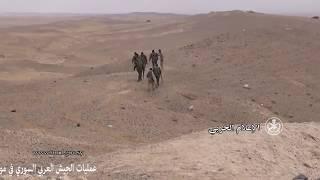 Минобороны Сирии показало работу российских боевых вертолетов(Министерство обороны Сирии опубликовало видео с демонстрацией работы российских боевых вертолетов., 2017-01-16T08:22:55.000Z)