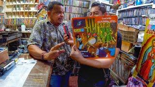 🔥BUSCANDO DISCO DE VINIL Y CUMBIAS EN CARTAGENA DE INDIAS COLOMBIA EL BUNQUE DE LA SALSA