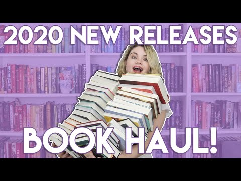 A BIG Book Haul of 2020 New Releases!