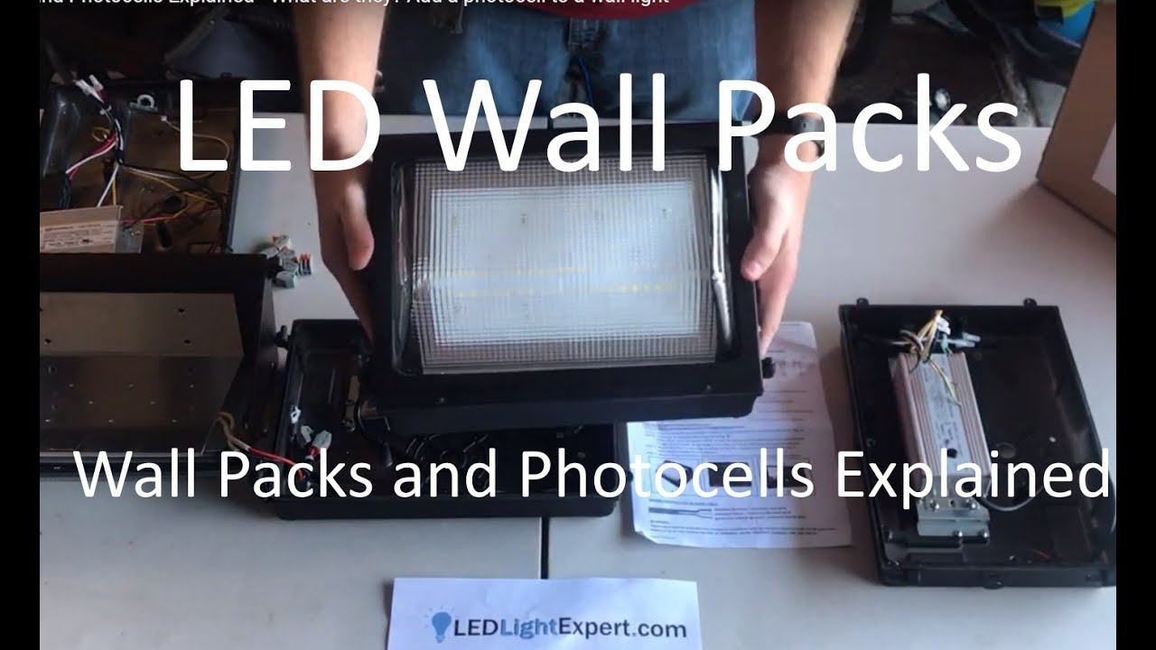 Led Wall Pack And Adding A Photocell