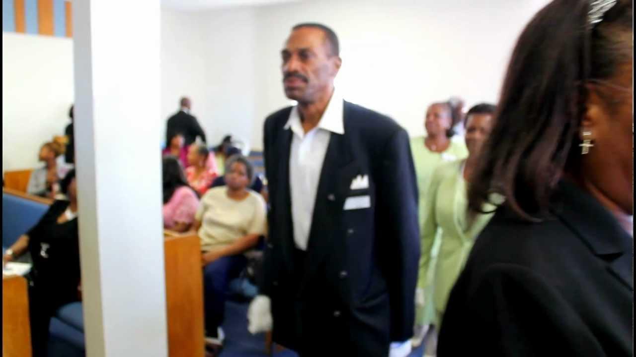Calvary Baptist Church Usher Day 2012 Usher March