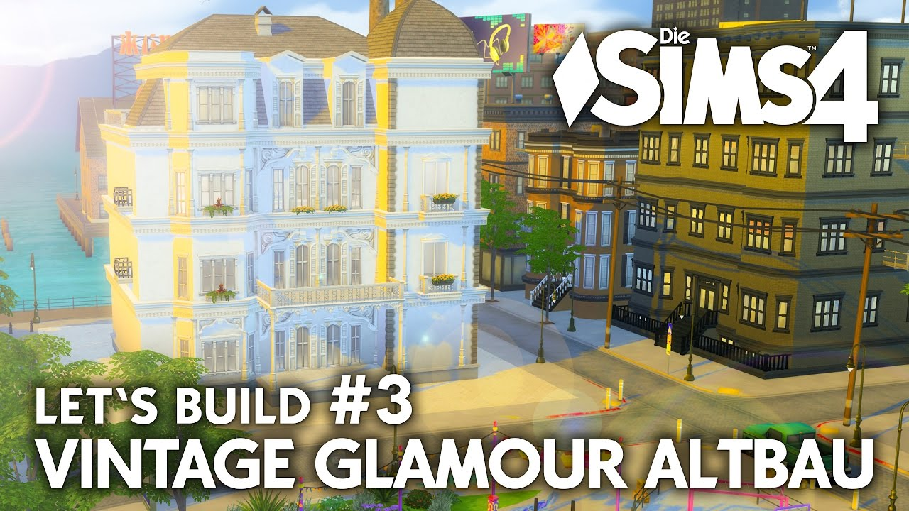 Grundriss Die Sims 4 Haus Bauen Vintage Glamour Altbau 3