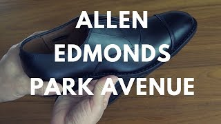 Allen Edmonds Park Avenue Pick Up + How To Bar Lace 👞