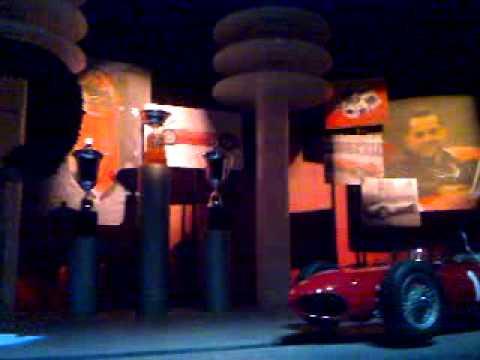 Visit to Ferrari World, Abu Dhabi, United Arab Emirates. 03.12.2010