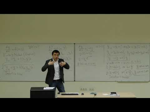 Computational Physics Lecture 24, Implicit Euler Method and Stiff ODEs.