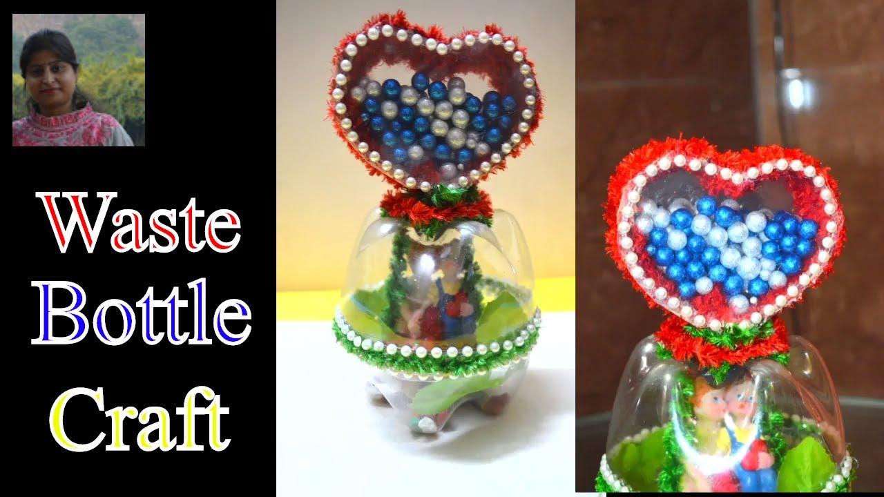 Craft Waste Plastic Bottle