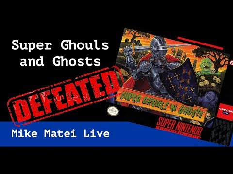 Super Ghouls n Ghosts - Normal - Mike Matei Live