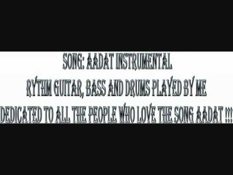 YouTube   Aadat Instrumental cover by Parth Raval