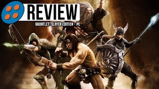 Gauntlet: Slayer Edition for PC Video Review