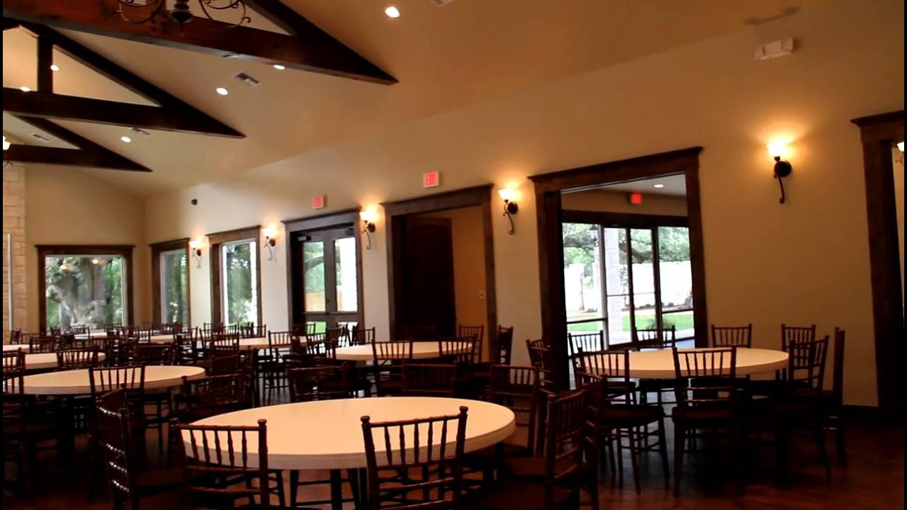 Cathedral Oaks Wedding And Event Center In Belton Texas