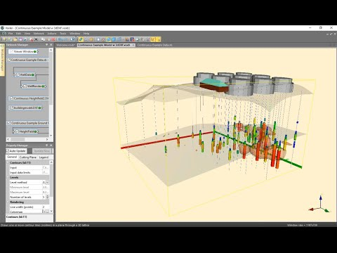 Visualizing Contamination Plumes in 3D using Voxler Webinar