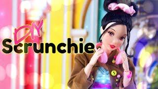 DIY - How to Make: Doll Scrunchie PLUS Scrunchie Skirt & Top