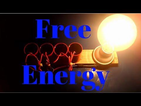 free energy technology Generator light bulb 230v using Capacitor for Life time Free Energy