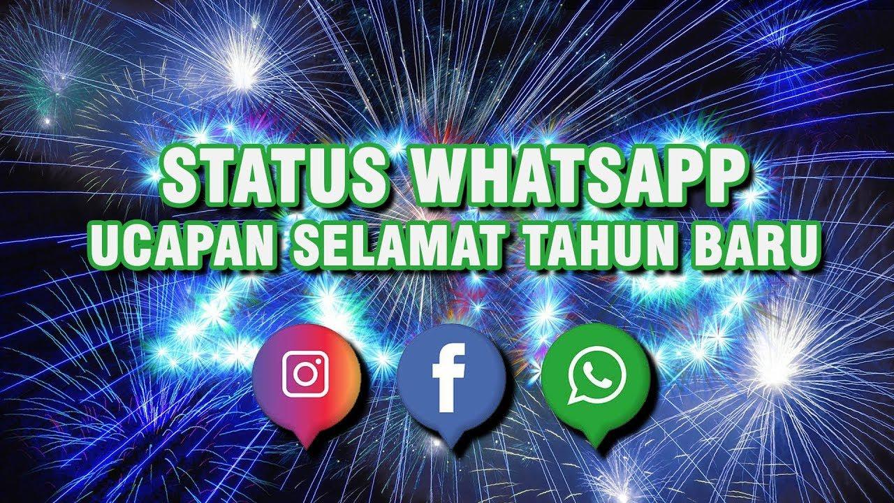Status Whatsapp Ucapan Selamat Tahun Baru 2019 Youtube