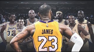 詹姆斯赛季高光集锦Lebron James  Highlights from 2018-2019 NBA Season!