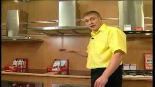 видео Виды и типы вытяжек для кухни