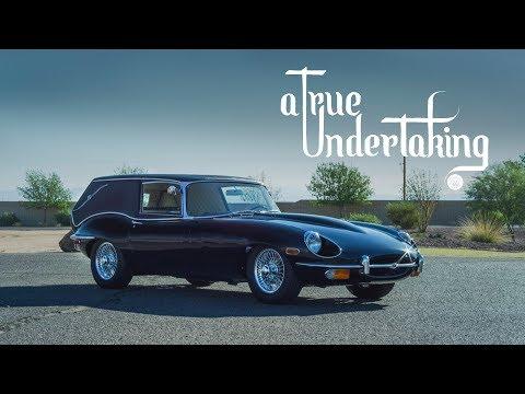 "The ""Harold and Maude"" Jaguar E-Type Hearse: A True Undertaking"