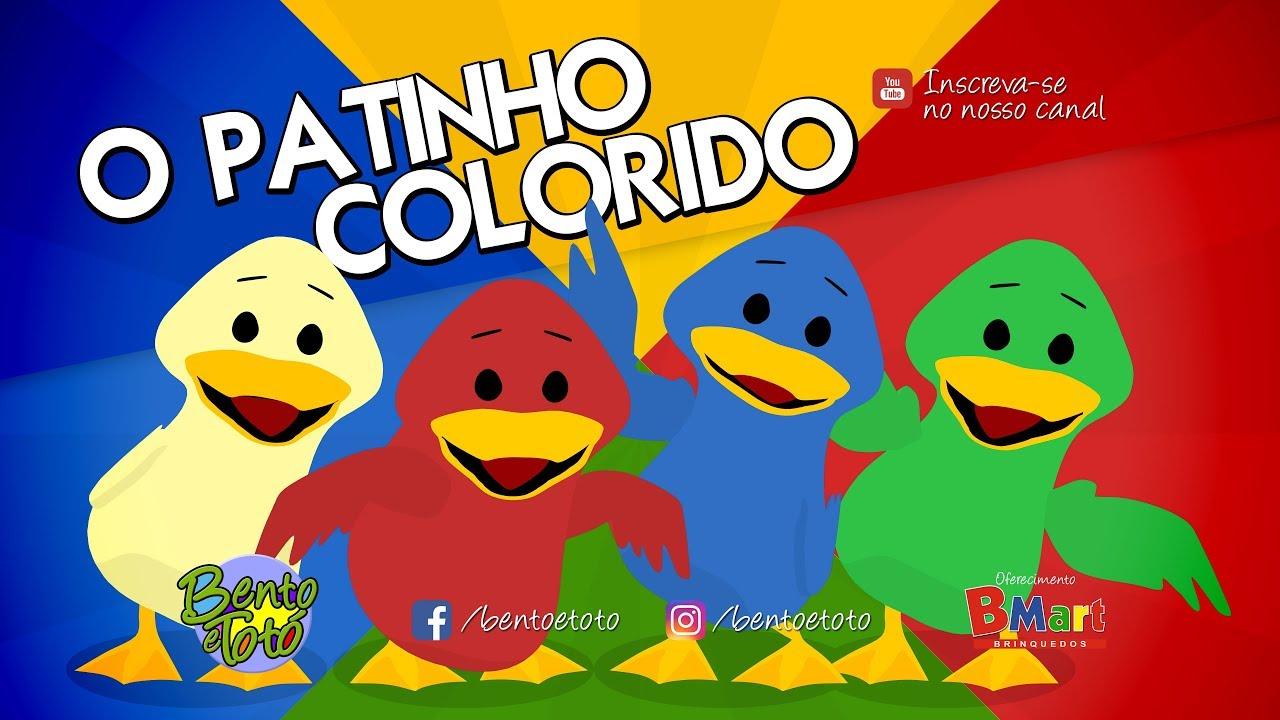 Bento E Toto O Patinho Colorido Desenho Infantil Youtube
