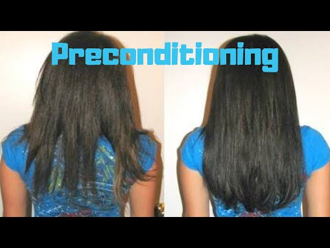 How to do PreConditioning at Home | Benefits of Pre Conditioning | Get Super Silky, Tangle Free Hair