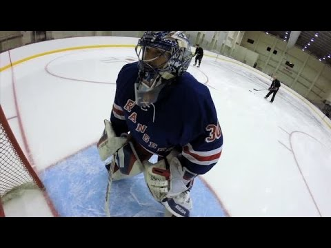 GoPro On the Ice: Henrik Lundqvist