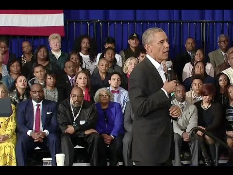 Random Movie Pick - The President Holds a Town Hall in Baton Rouge YouTube Trailer
