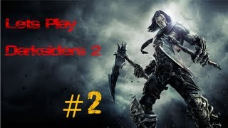 Lets Play Darksiders 2 [German] #2 Kampf Der Giganten![HD]