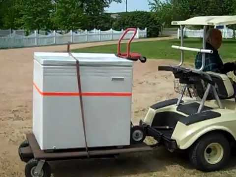 Villager Stow And Tow Golf Cart Utility Trailer Swivel