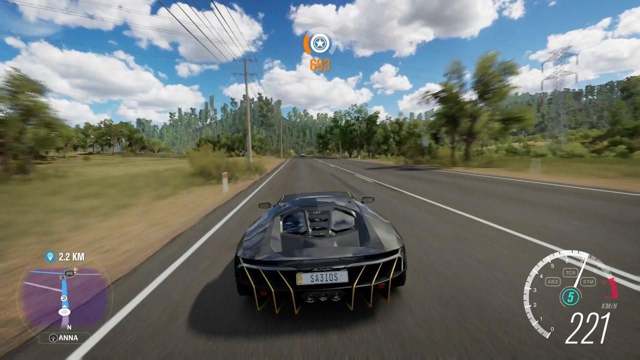 Forza Horizon 3 Lamborghini Centenario LP 770 4