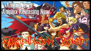 Anime News: Aniplex Releasing Gurren Lagann New Blu-ray Box set In Vols (2014)