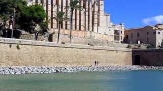 Mallorca Tourist Video, Part 2  Kathedrale von Palma de Mallorca, Full HD 1920 x 1080p