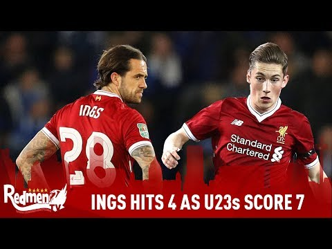 Ings Scores 4 In 7-0 Win! | Liverpool Development Watch