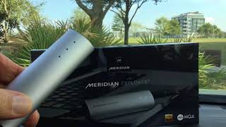MQA Music and Meridian Explorer-2 DAC/Headphone Amp review by Dale