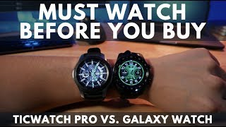 Video TOP 4 Reasons to NOT BUY Ticwatch Pro - Galaxy Watch Comparison download MP3, 3GP, MP4, WEBM, AVI, FLV Oktober 2018