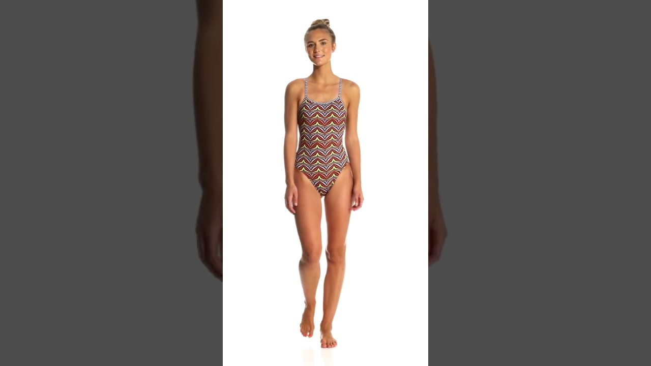 83efeef487e15 Dolfin Uglies Women's Zulu String Back One Piece Swimsuit | SwimOutlet.com