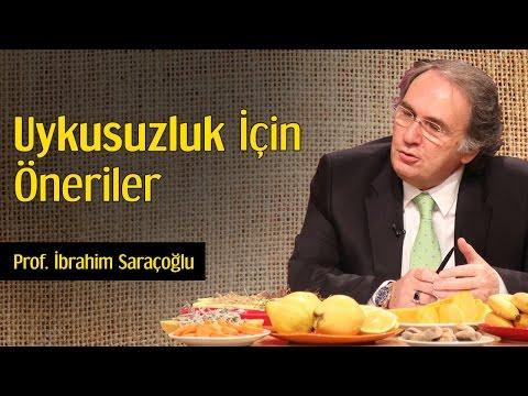 Uykusuzluk İçin Öneriler | Prof. İbrahim Saraçoğlu