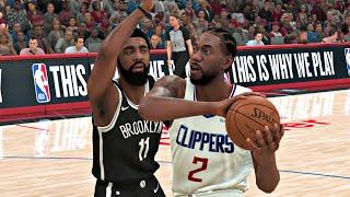 NBA 2K20 Gameplay - Los Angeles Clippers vs Brooklyn Nets (12 Minute Quarters) – NBA 2K20 PS4