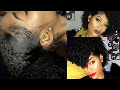 Easy Natural Hairstyles for Black Women (Detail Tutorial)