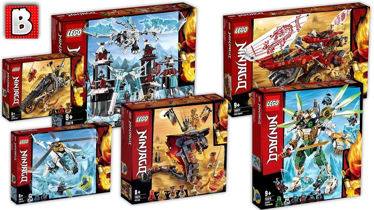 New Ninjago Sets 2019!!! LEGO News