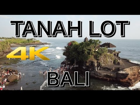 Tanah Lot Temple In Bali Indonesia 4K