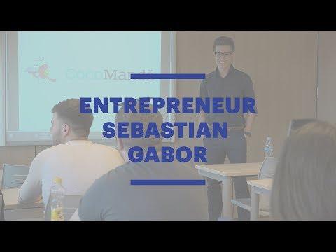 EU Barcelona Alumnus Sebastian Gabor Talks Entrepreneurship